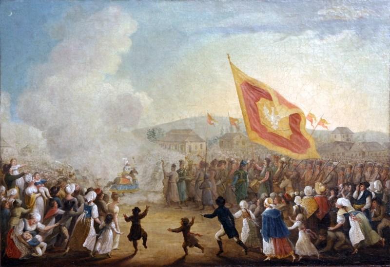 Michał_Stachowicz,_Obchód_Lajkonika,_1818,_MHK