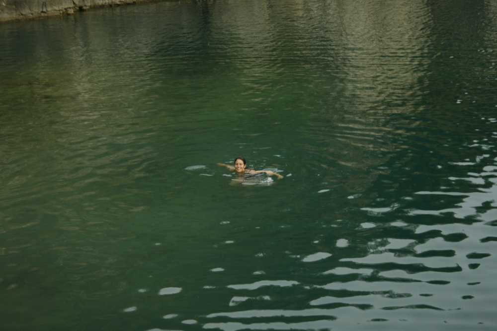 This is me swimming!