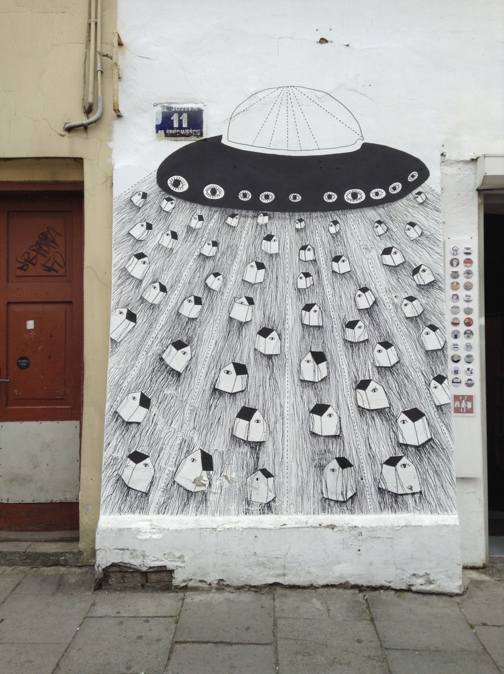 Jozefa Street Art Illustrations